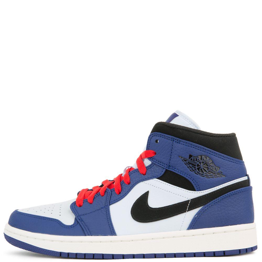 magasin en ligne 88f6c ffc96 AIR JORDAN 1 MID SE DEEP ROYAL BLUE/BLACK-HALF BLUE
