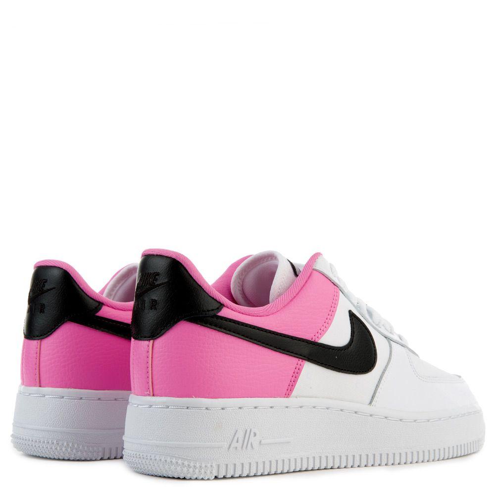 Nike Air Force 1 '07 Se Sneakers WhiteBlackChina Rose