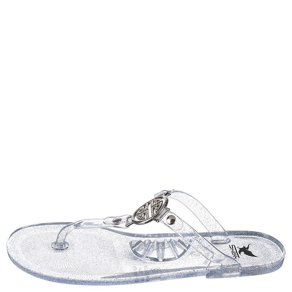 clear flip flops