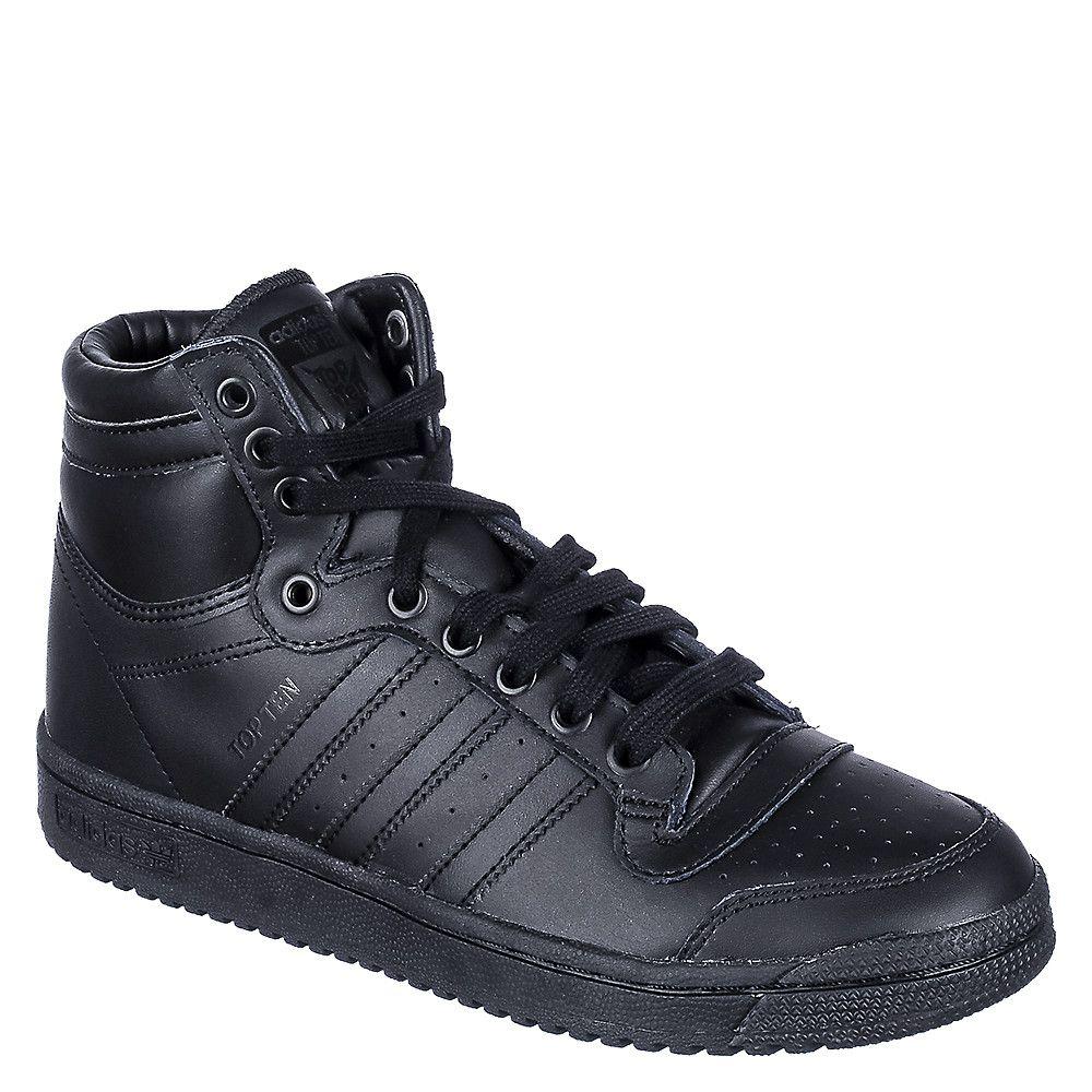 Adidas Top Ten HI Juniors Youth Black