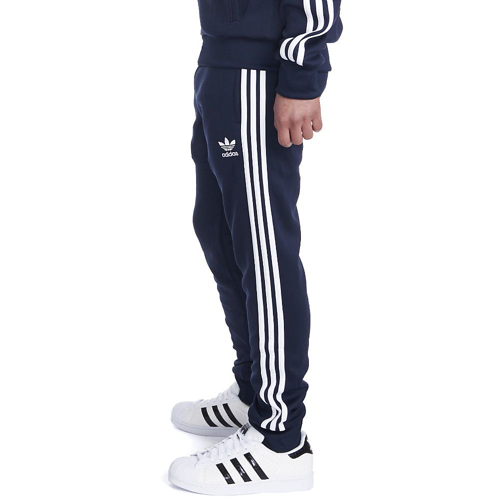 Men's Superstar Cuffed Track Pants Navy
