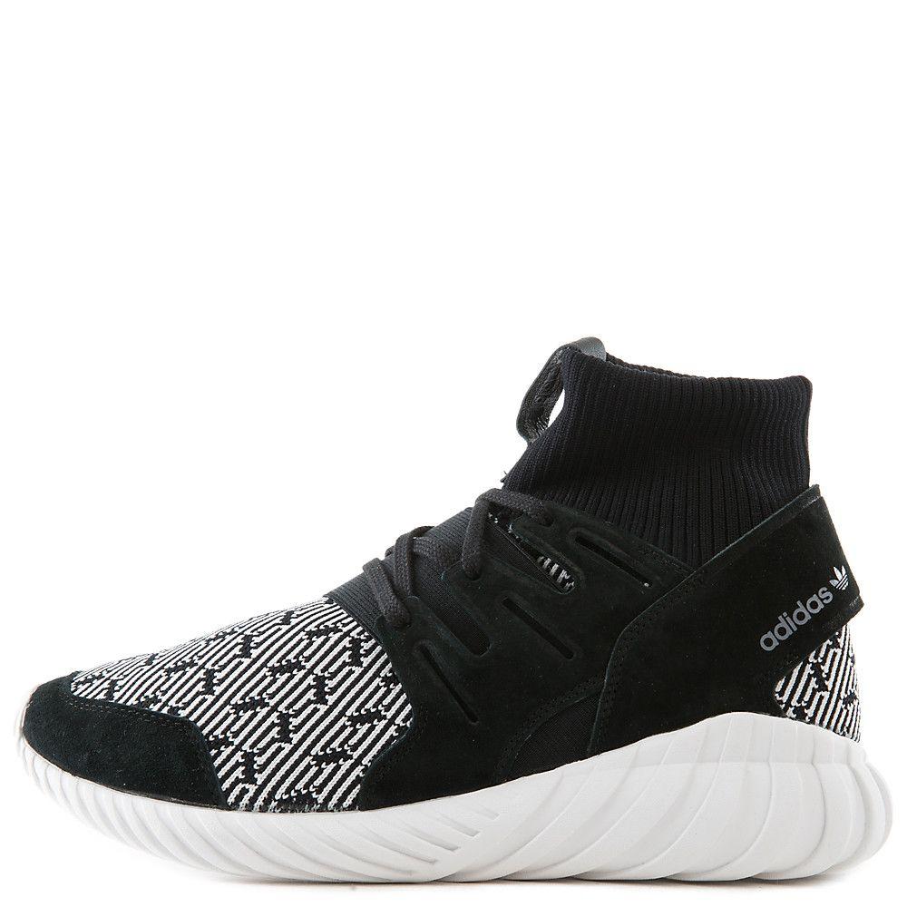 Men's Tubular Doom Athletic Lifestyle Sneaker BlackWhite