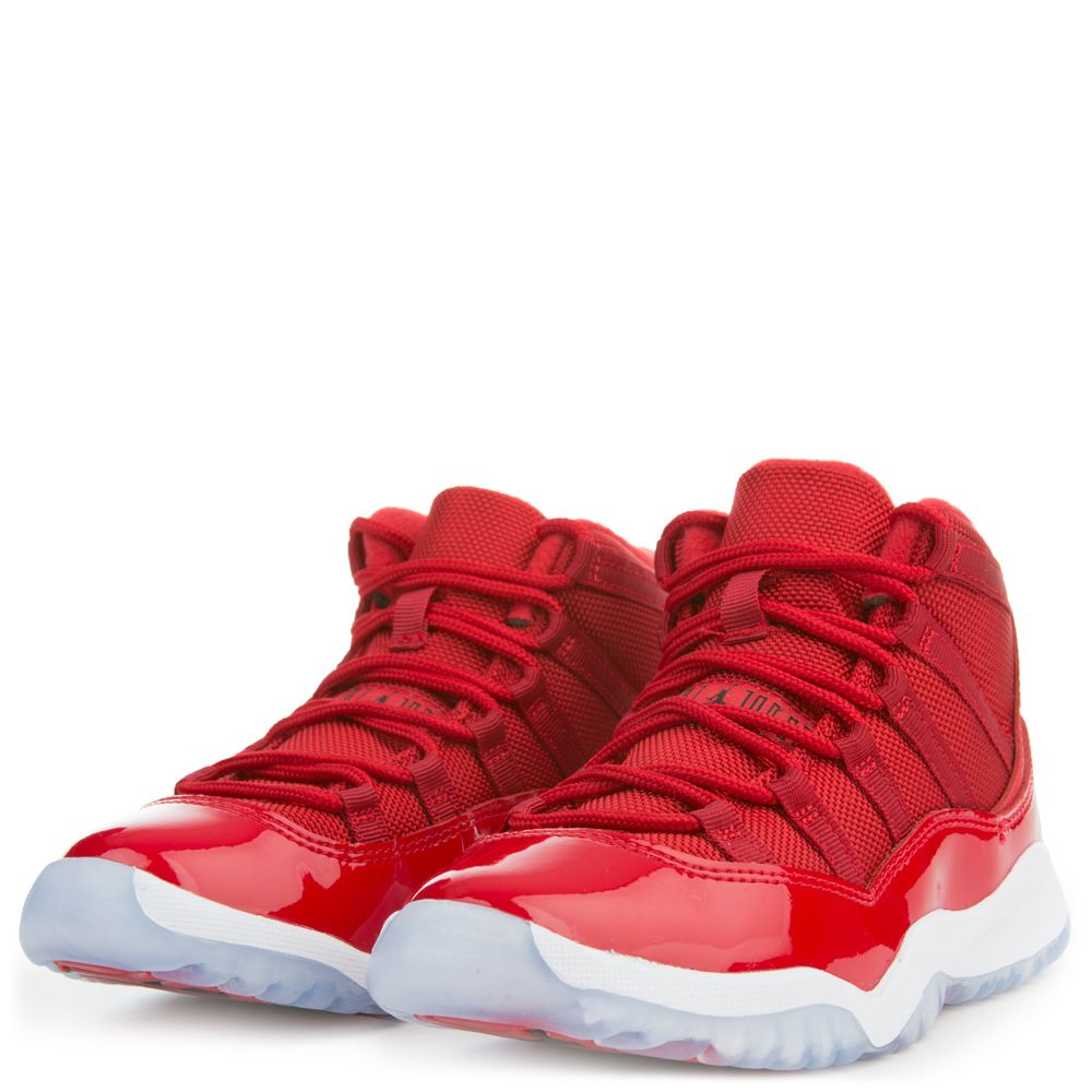 Air Jordan 11 Retro Low IE Gym Red White GS 919713 101