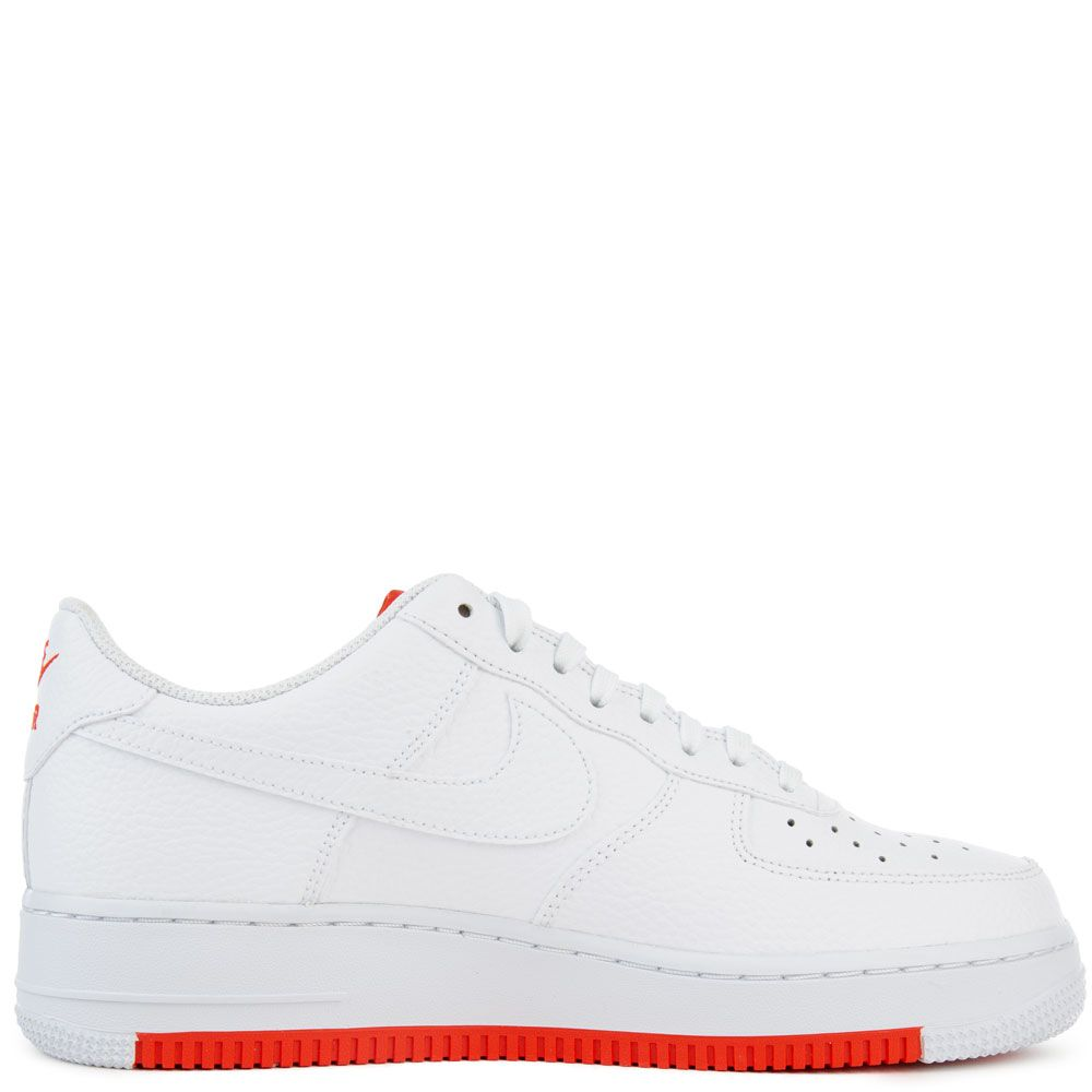 Air Force 1 '07 1 WhiteWhite Habanero Red