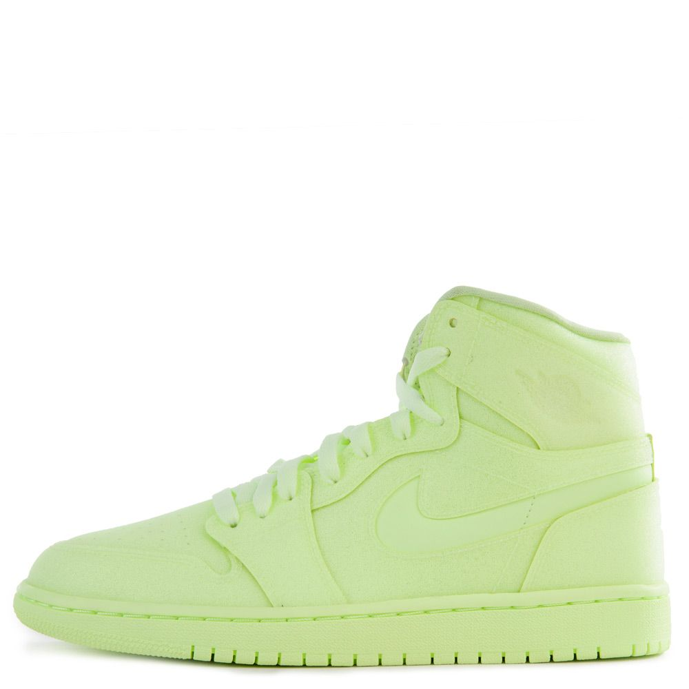 timeless design aa2de e53b9 Women's Air Jordan 1 Retro High Premium Barely Volt