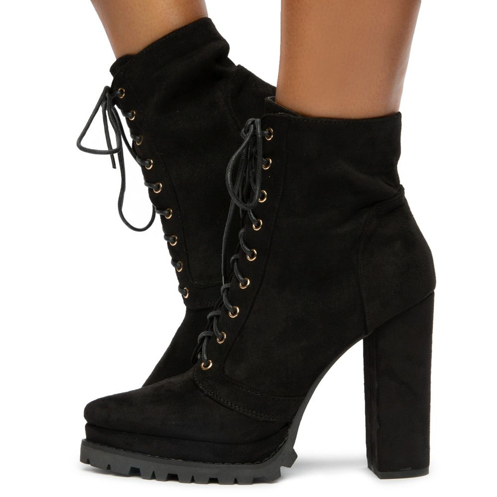 Irie-1 Lace Up Booties