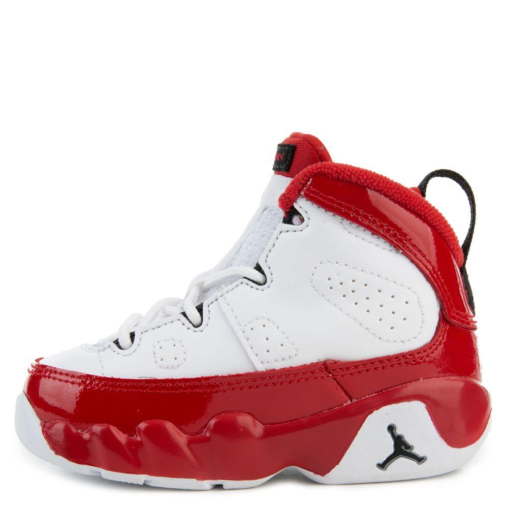 white black gym red jordan 9