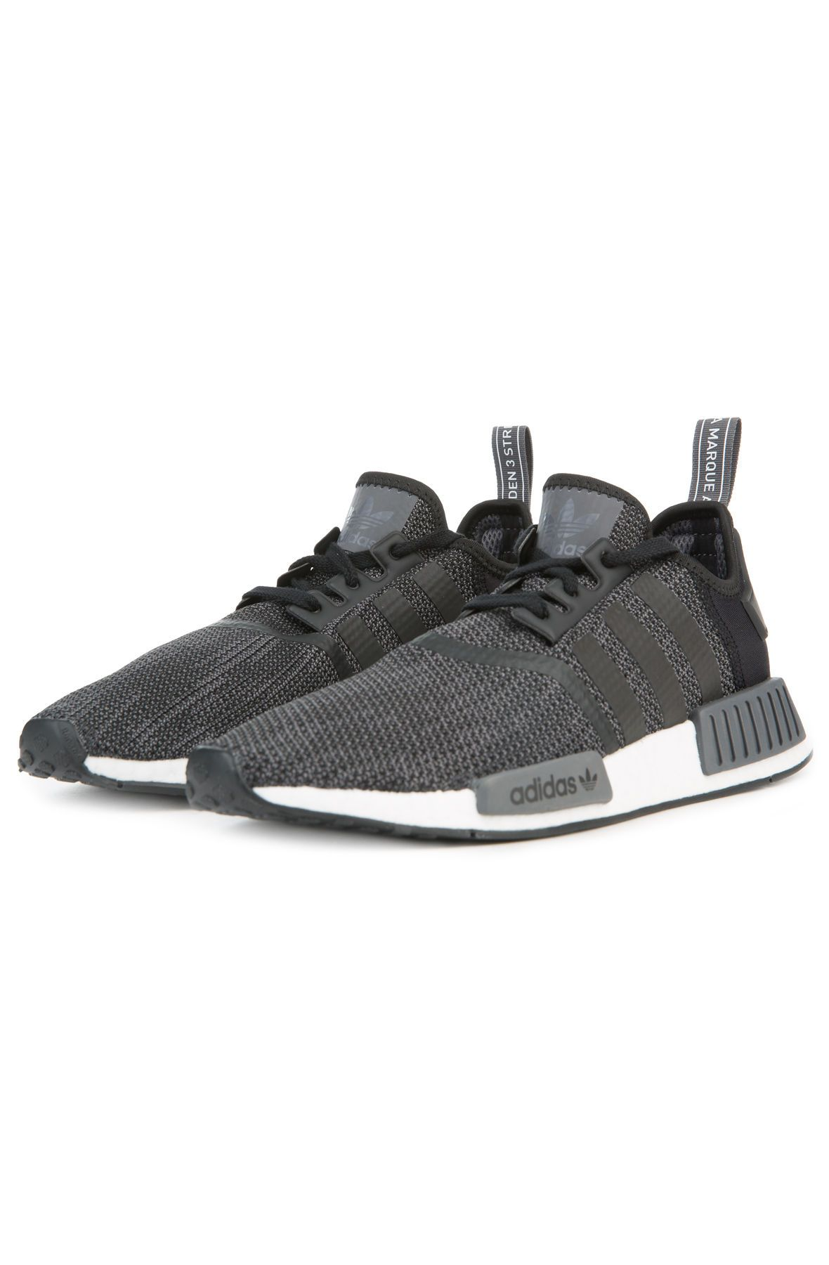 super popular c824b aa380 The Men's NMD R1 in Core Black, Carbon and White Black
