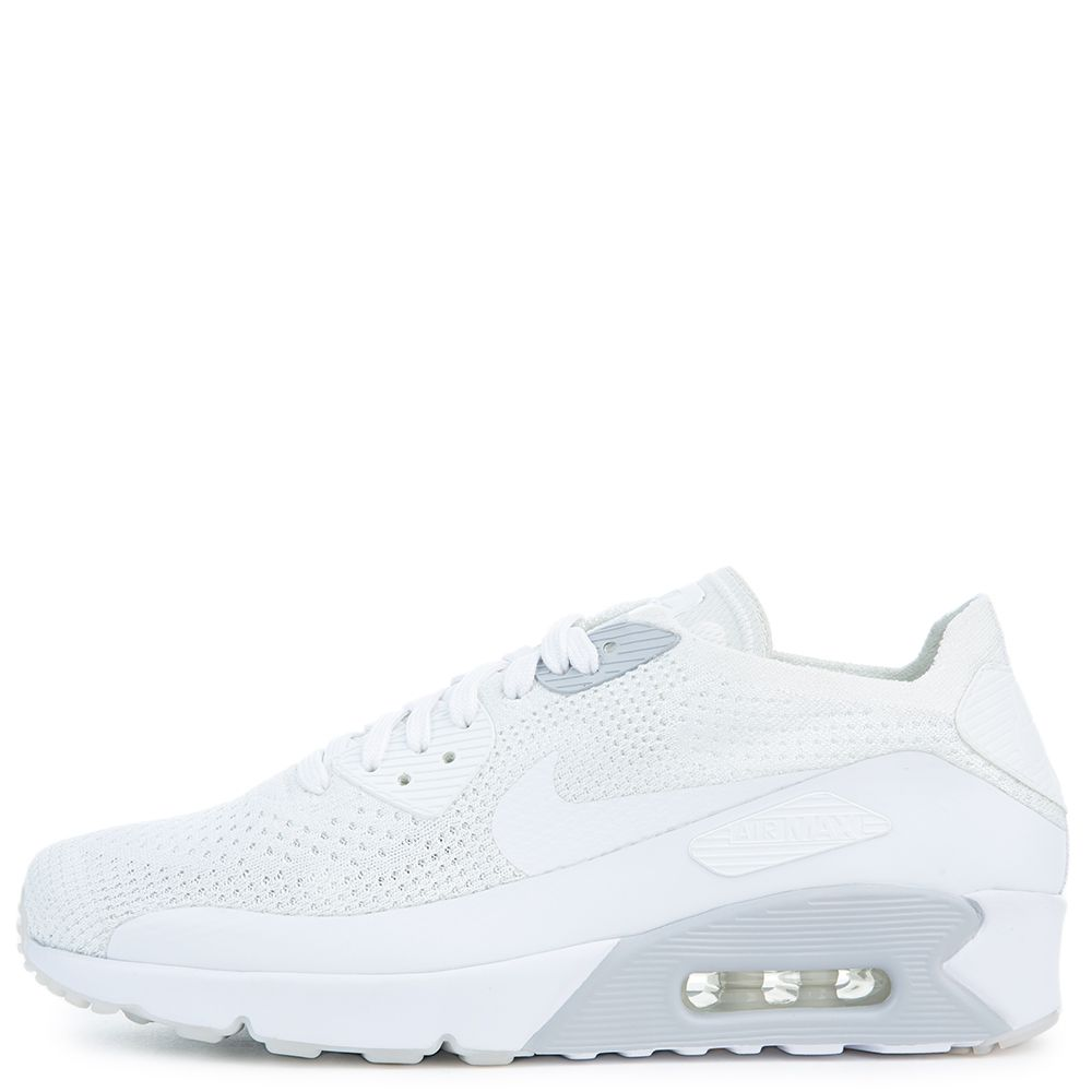 huge discount 6b02a 9cd5e AIR MAX 90 ULTRA 2.0 FLYKNIT WHITE/WHITE-PURE PLATINUM-WHITE