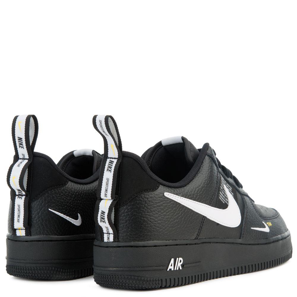 Nike PreSchool Air Force 1 Low '07 LV8 Utility (Black   White)