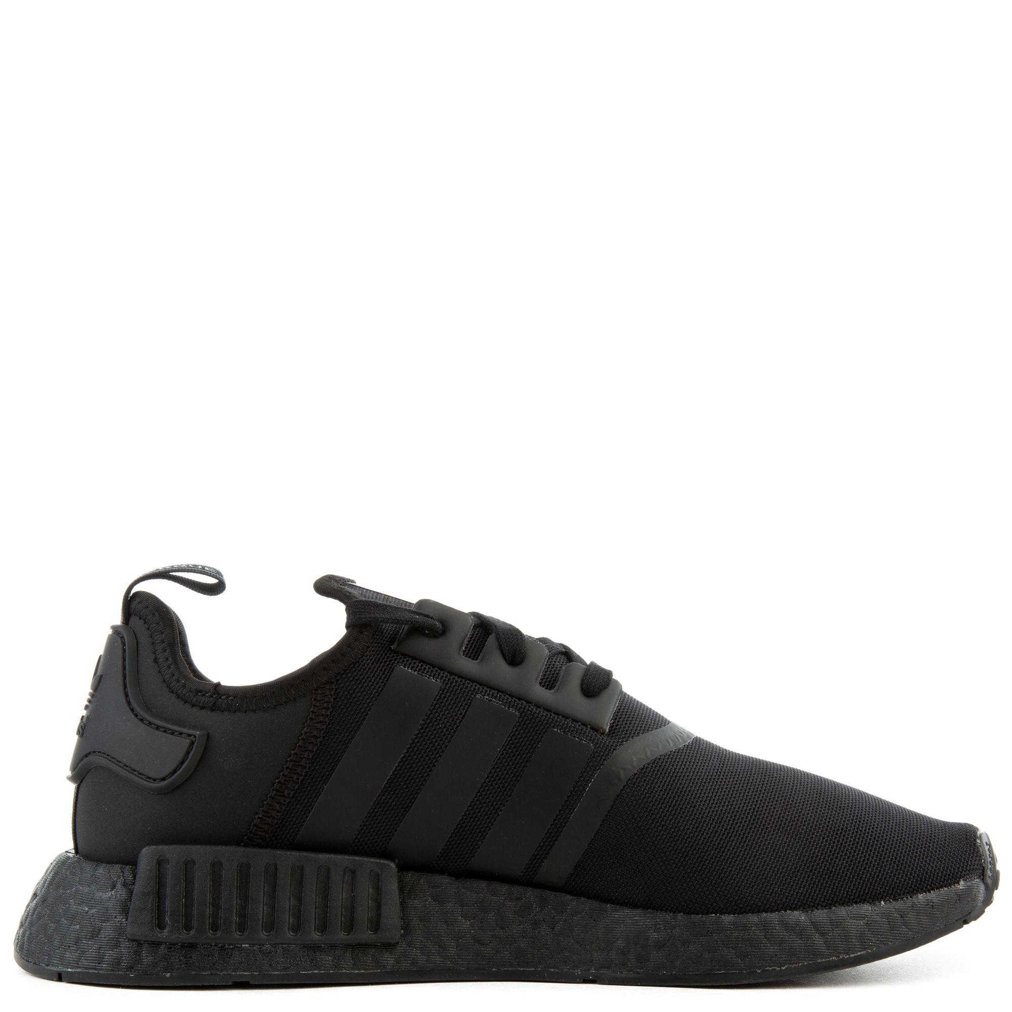 Mens Adidas NMD R1 Triple Black FV9015 On Sale