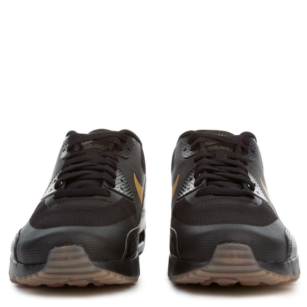 Nike Air Max 90 Ultra 2.0 Essential Herren Schwarz Gold 875695 016