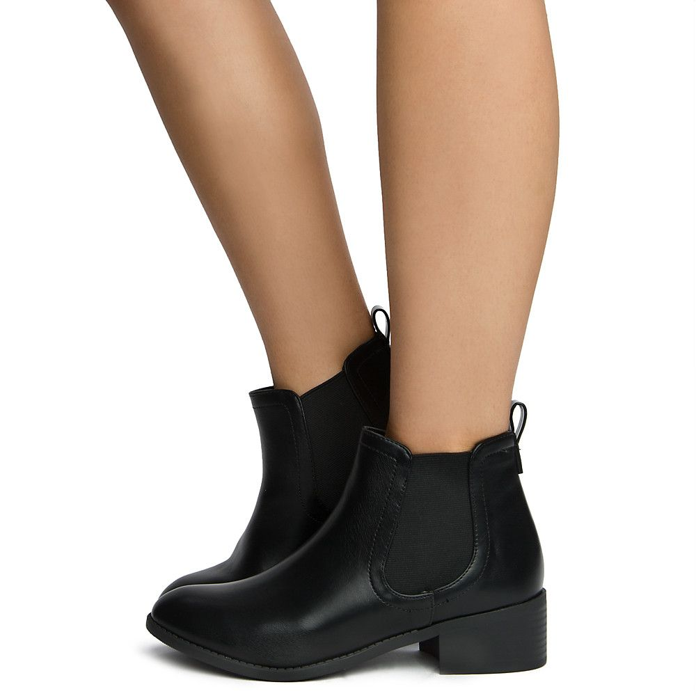 Women's Code-S Ankle Bootie BLACK