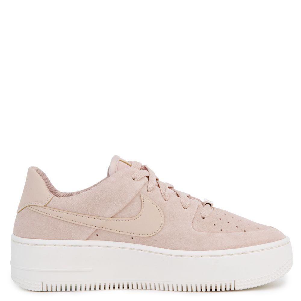 nike air force 1 sage low light pink