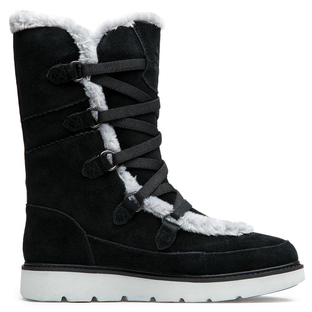 Muk Tall Women's Boot BLACK SUEDE Kenniston UMGpSzqV