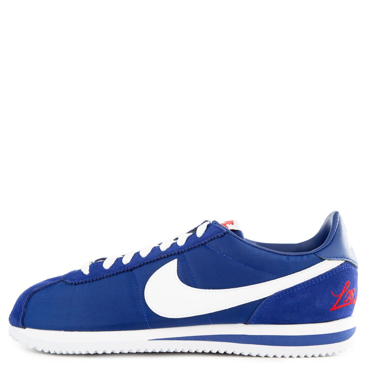 quality design ad163 a0dd9 NIKE CORTEZ BASIC DEEP ROYAL BLUE/WHITE-MEALLIC SILVER