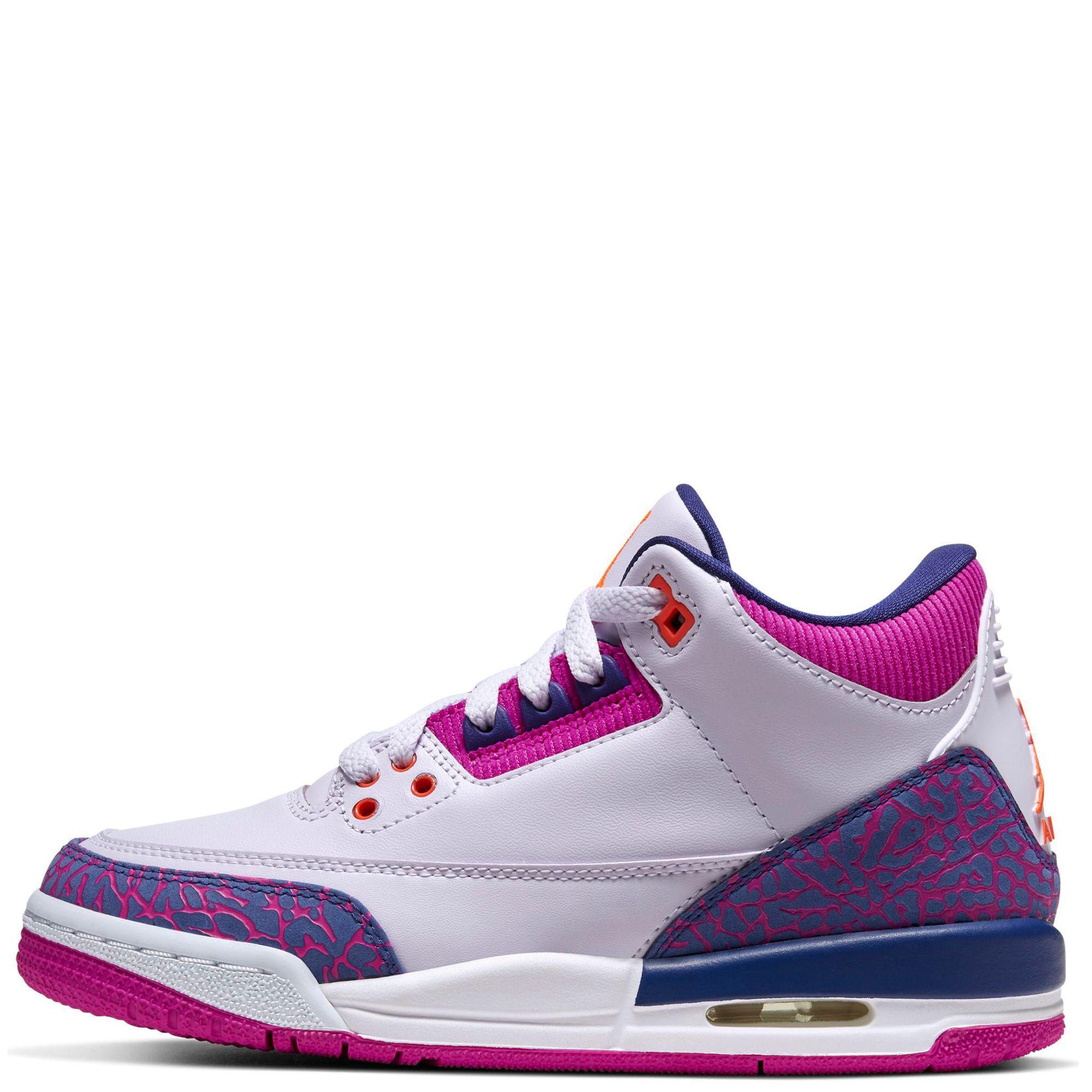 (GS) Air Jordan 3 Retro Barely Grape