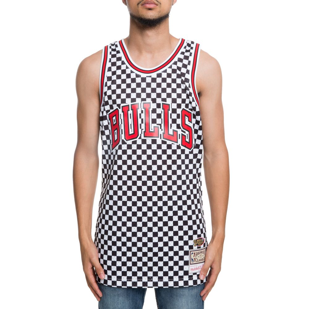 competitive price d80a0 50ab4 CHICAGO BULLS CHECKED SWINGMAN JERSEY