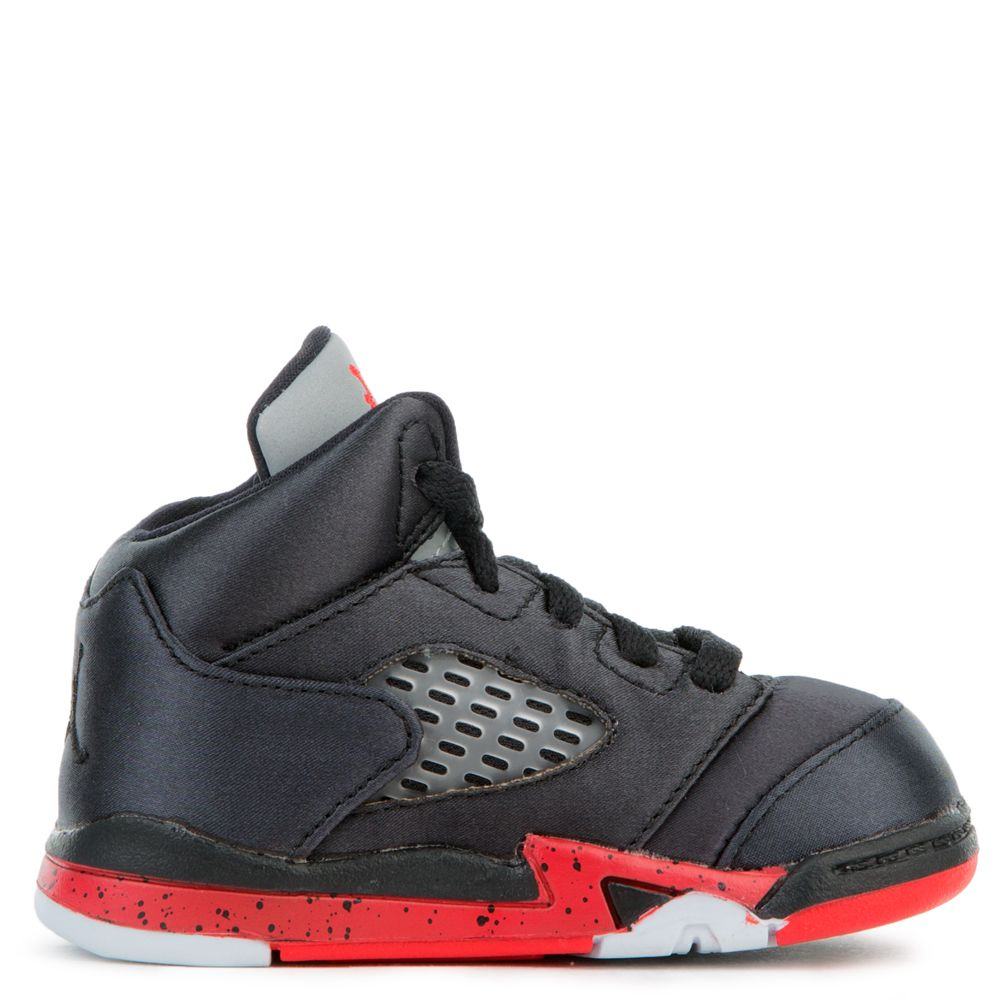 save off b5fd0 97536 (TD) JORDAN 5 RETRO BLACK/UNIVERSITY RED