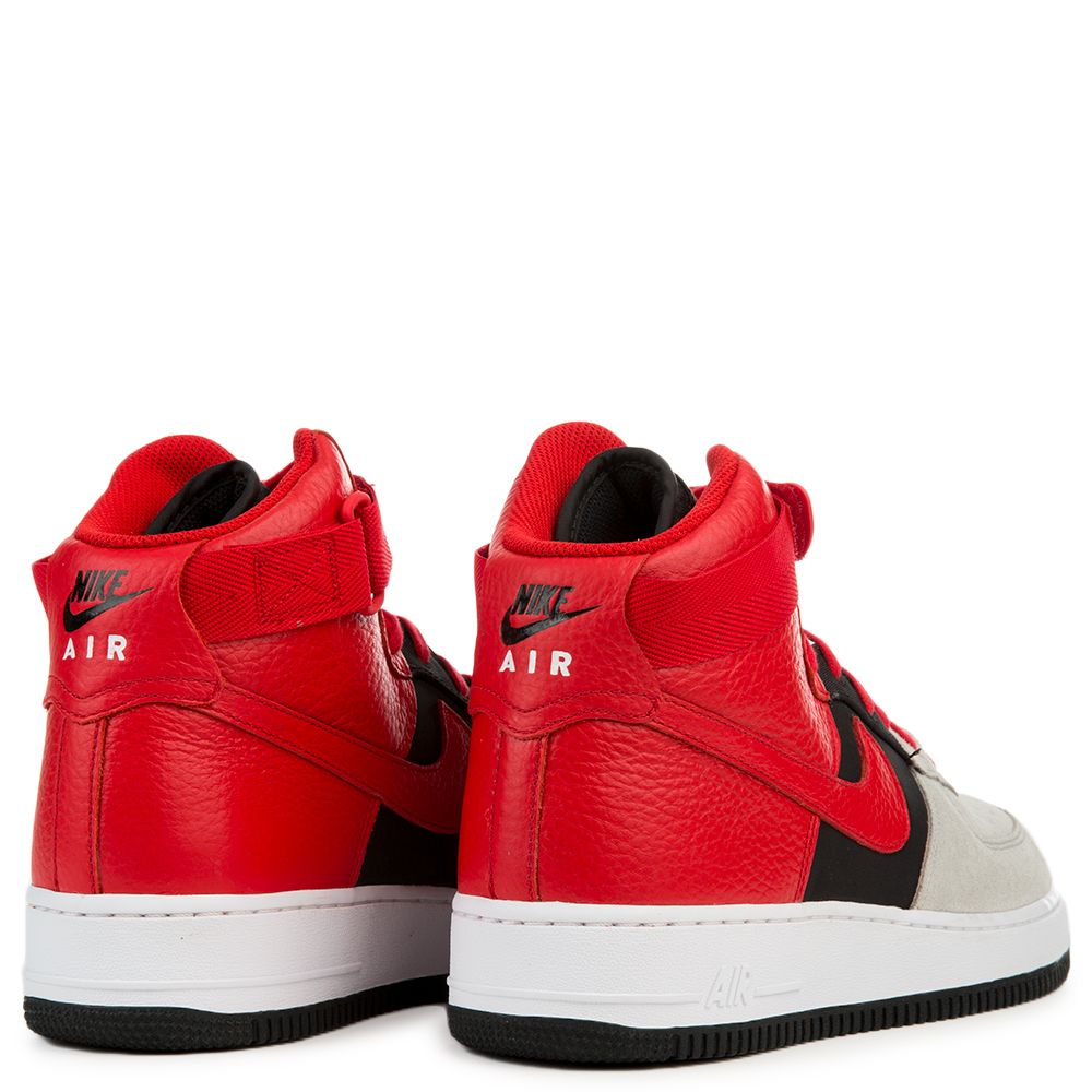 Air Force 1 High 07 Lv8 Wolf Grey University Red Black White