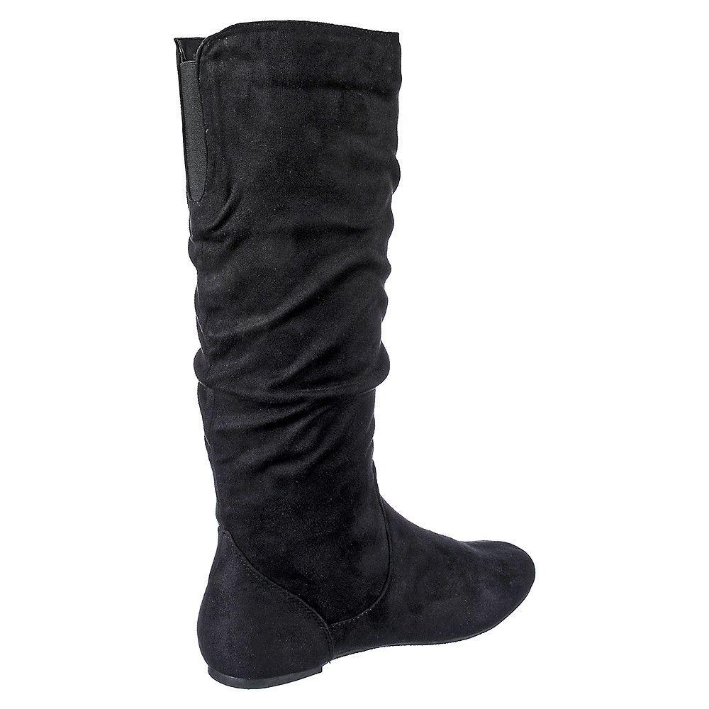 womens flat boots cheap online