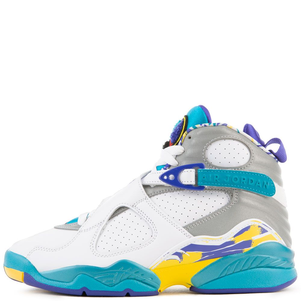 low priced 179e9 958a2 Women's Air Jordan 8 Retro White/Varsity Red-Bright Concord