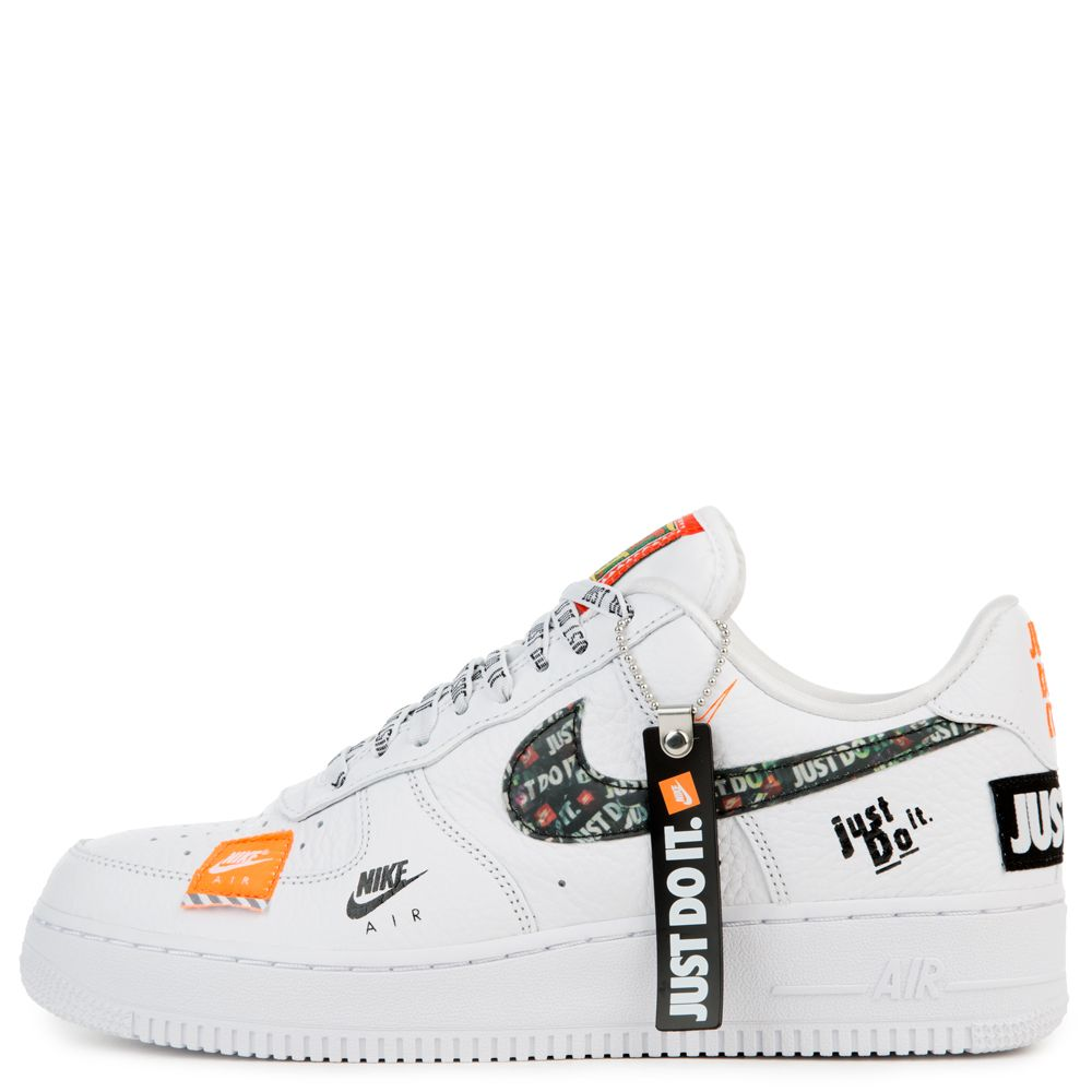 AIR FORCE 1 '07 PRM JDI TOTAL ORANGETOTAL ORANGE BLACK WHITE