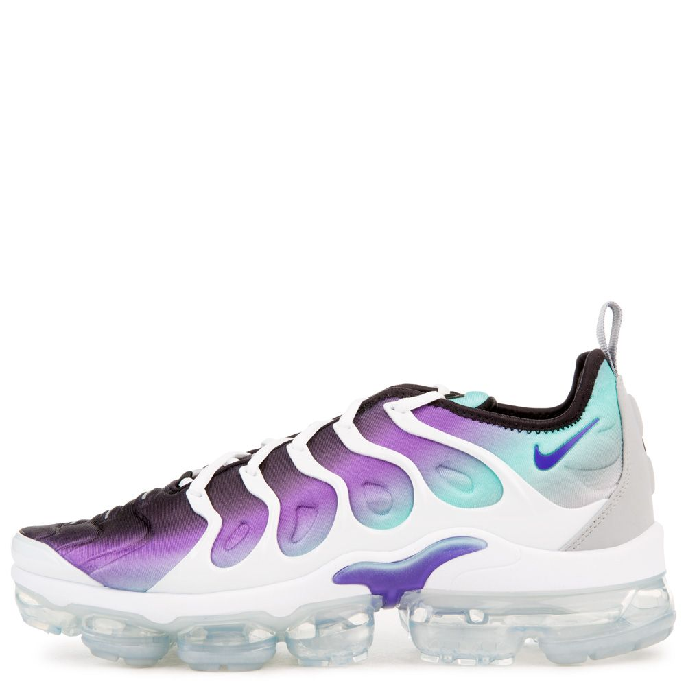 sports shoes 44bc3 e0971 AIR VAPORMAX PLUS WHITE/FIERCE PURPLE-AURORA GREEN-BLACK