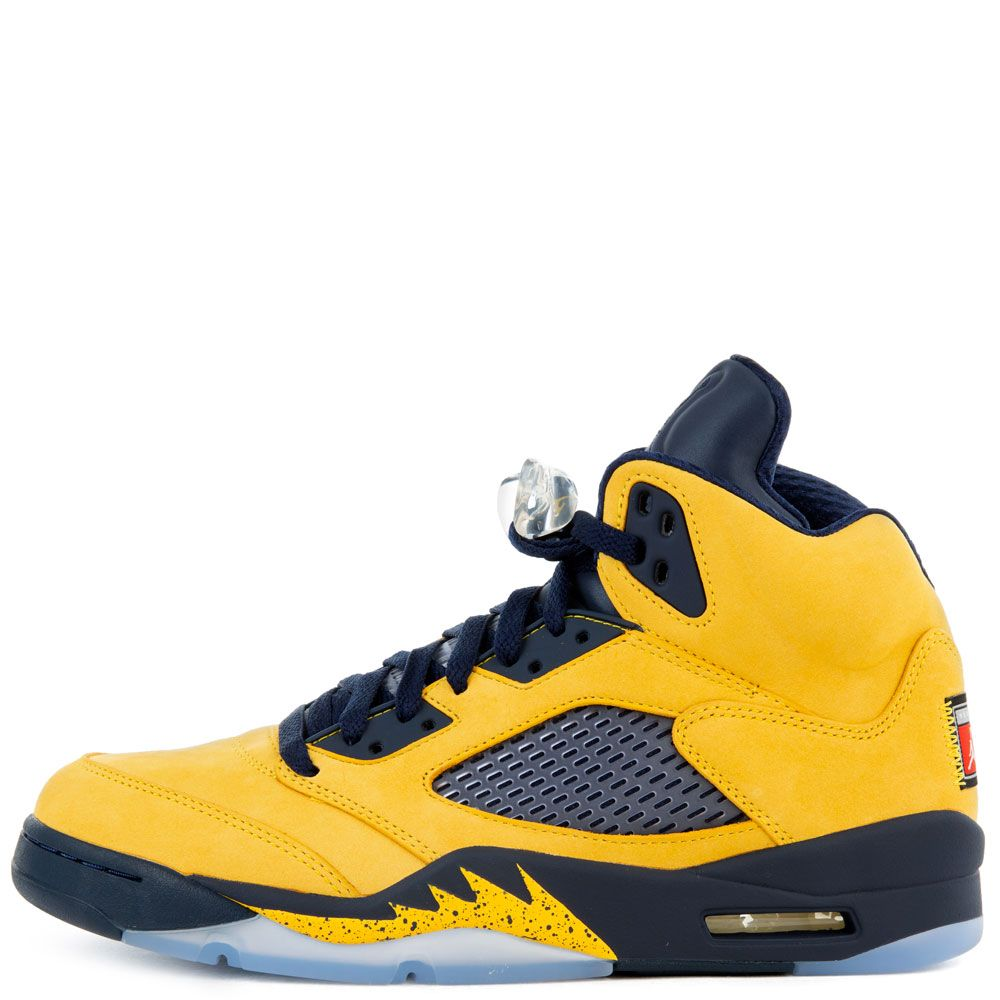 pretty nice e919b 62dee Air Jordan 5 Retro SP Amarillo/College Navy-Amarillo