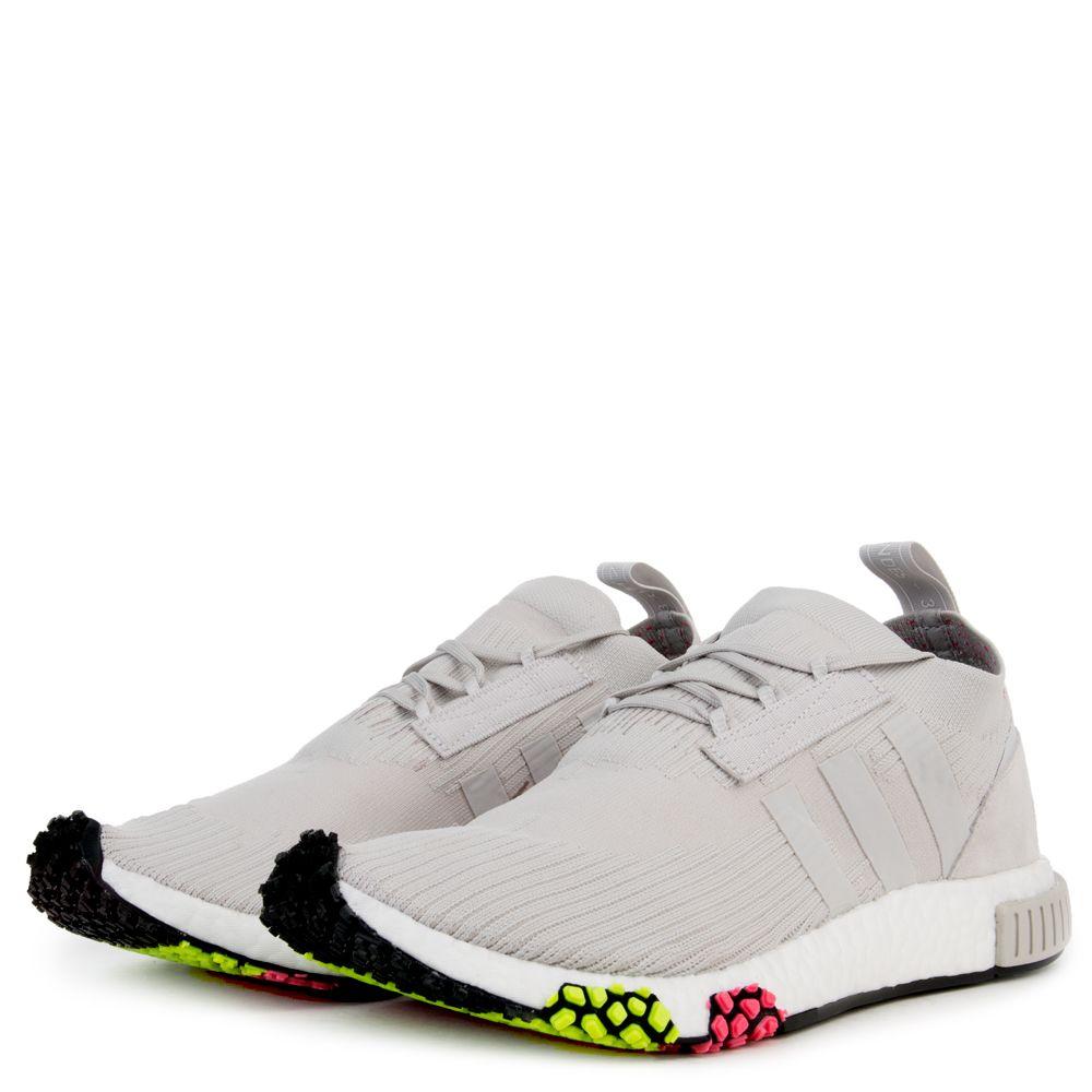 Men's NMD_Racer Primeknit Sneakers GREONEGREONESOPINK