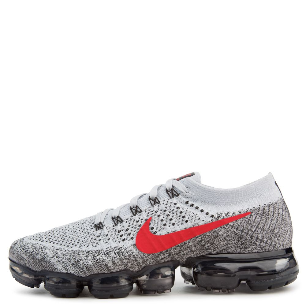 wholesale dealer 5527b 7fb1c Air Vapormax Flyknit PURE PLATINUM/UNIVERSITY RED/BLACK