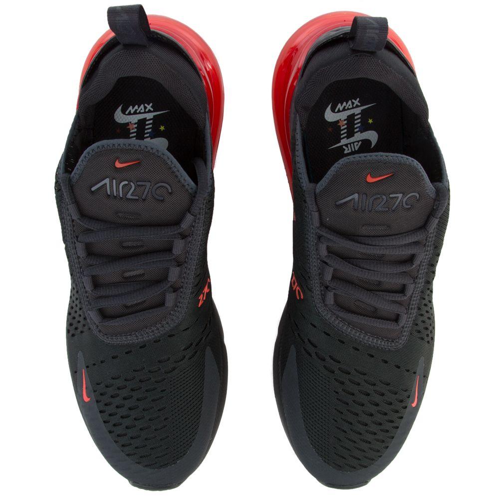 Nike Men Air Max 270 Se Reflective Off NoirHabanero Red Thunder Grey