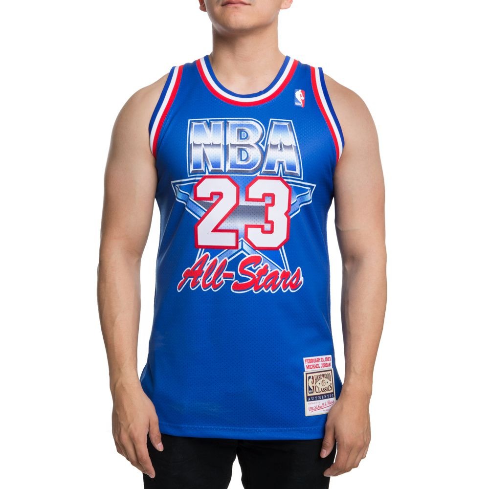 new concept 60688 f2088 AUTHENTIC ALL-STAR EAST 1993 MICHAEL JORDAN JERSEY BLUE/RED