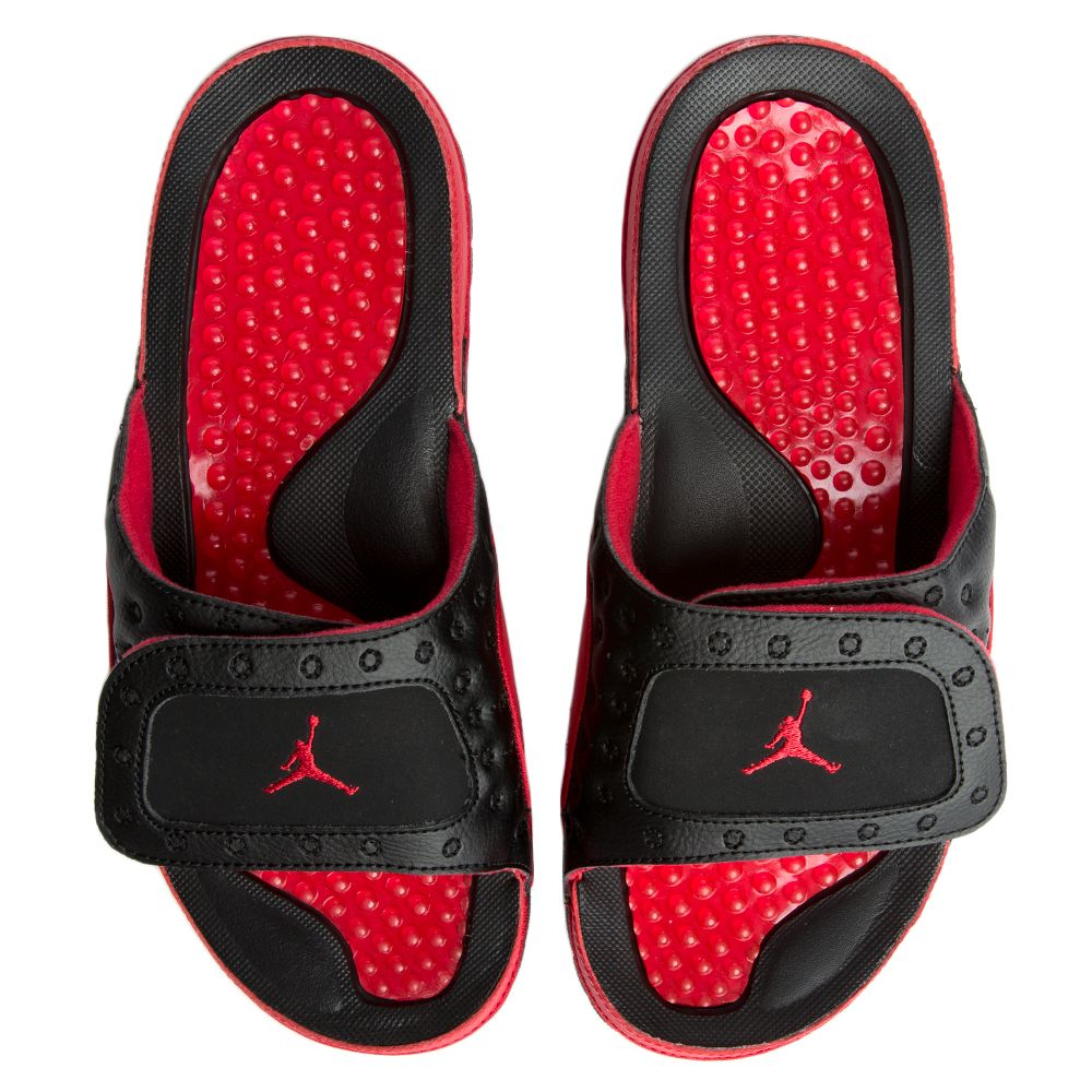 huge selection of 3b868 47d2e MEN'S JORDAN HYDRO XIII RETRO BLACK/TRUE RED