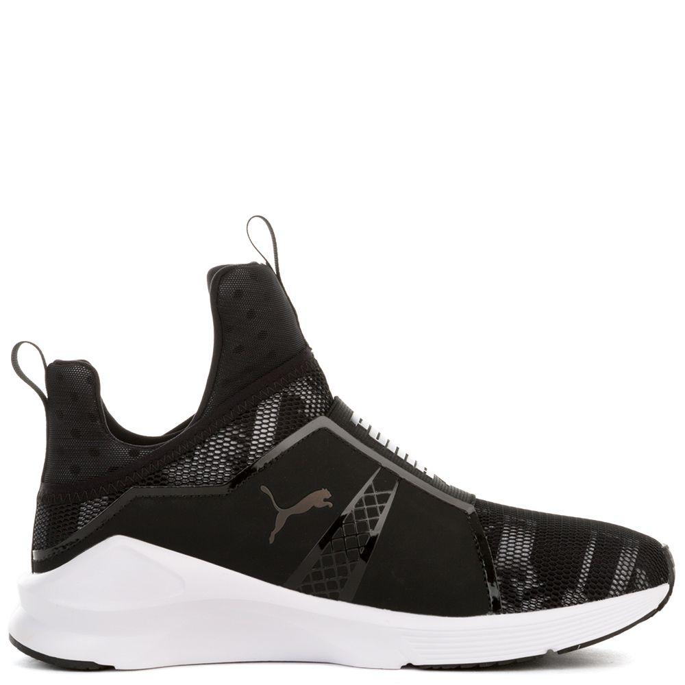 Women's Fierce Swan Black Sneaker PUMA