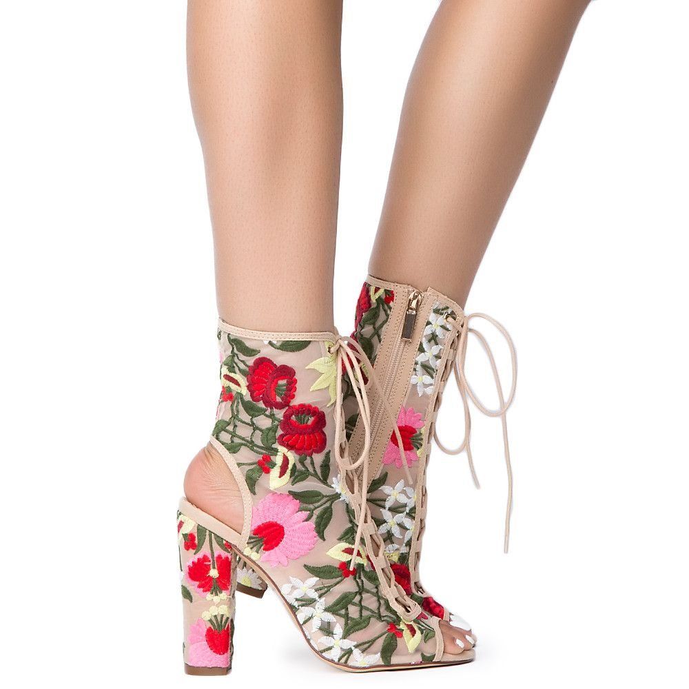 Women Patent Ankle Boots White Pointed Toe High Heel Sexy