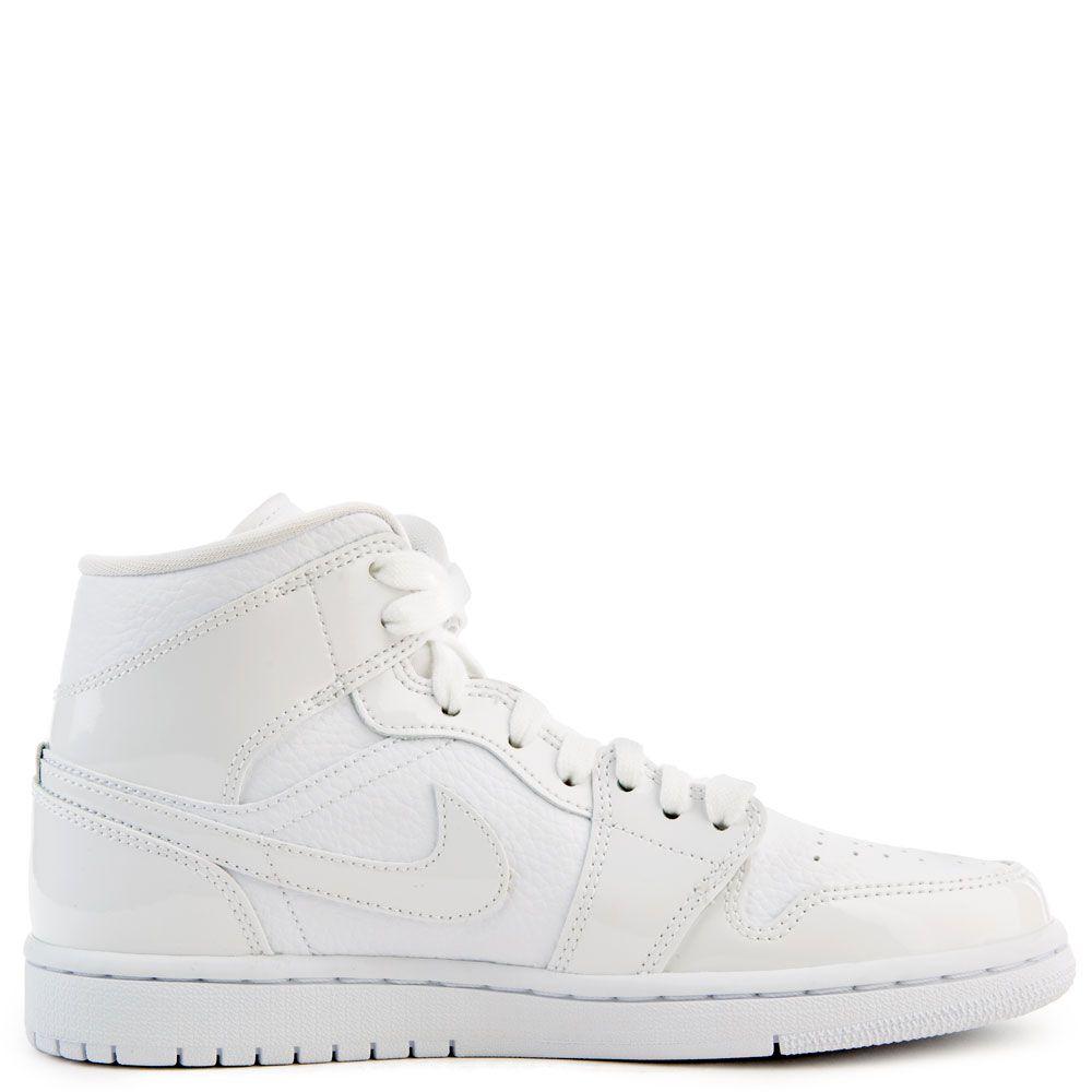 new product ba61c a1660 Women's Air Jordan 1 Mid White