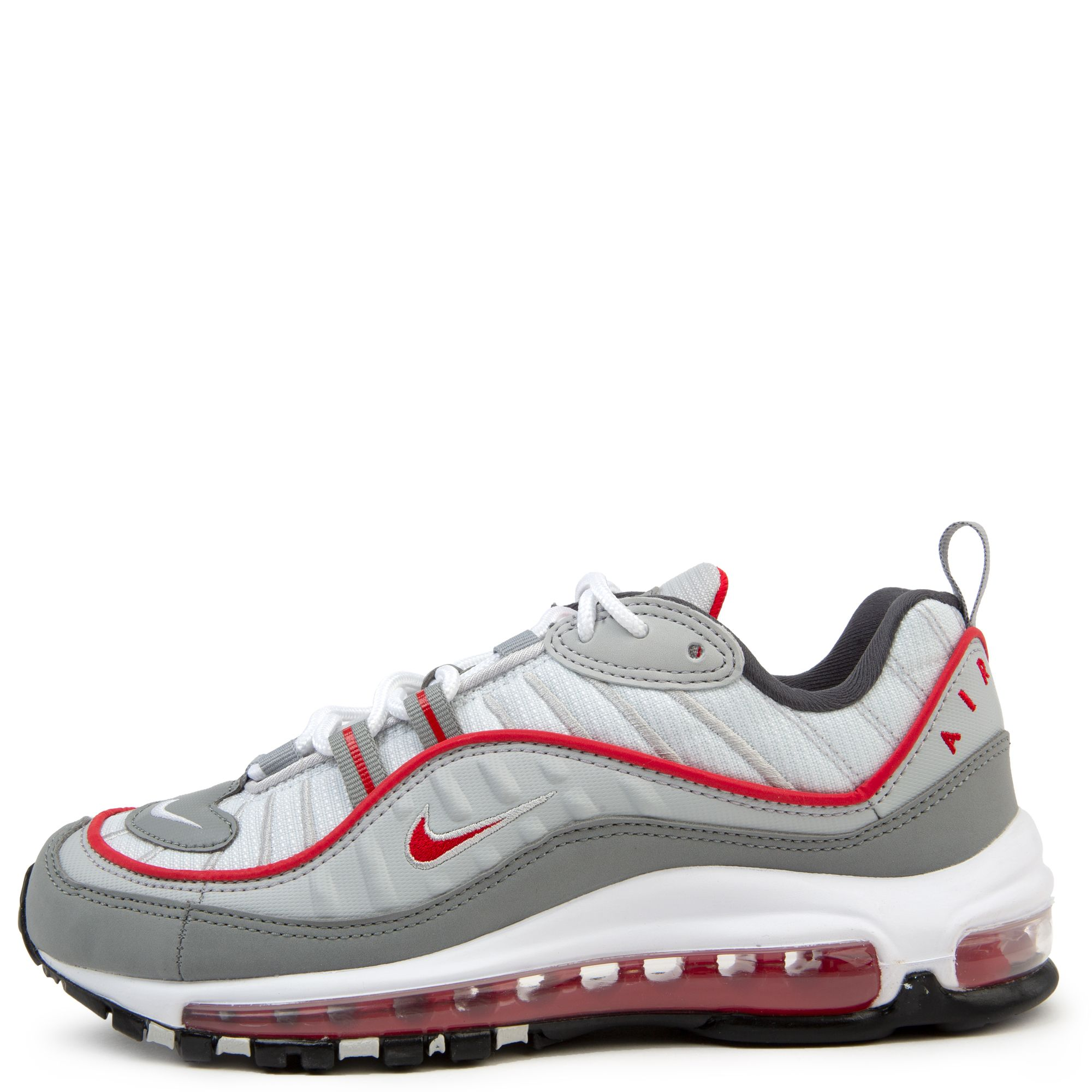 (GS) Air Max 98 White/University Red