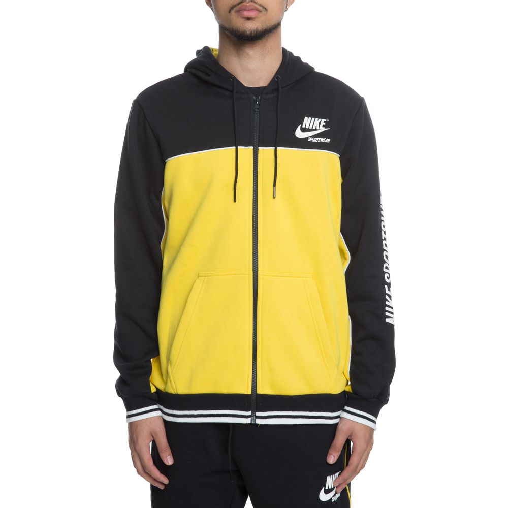 Zip Hoodie Full Fleece WHITE SULFURSUMMIT BLACKVIVID EDWHI92