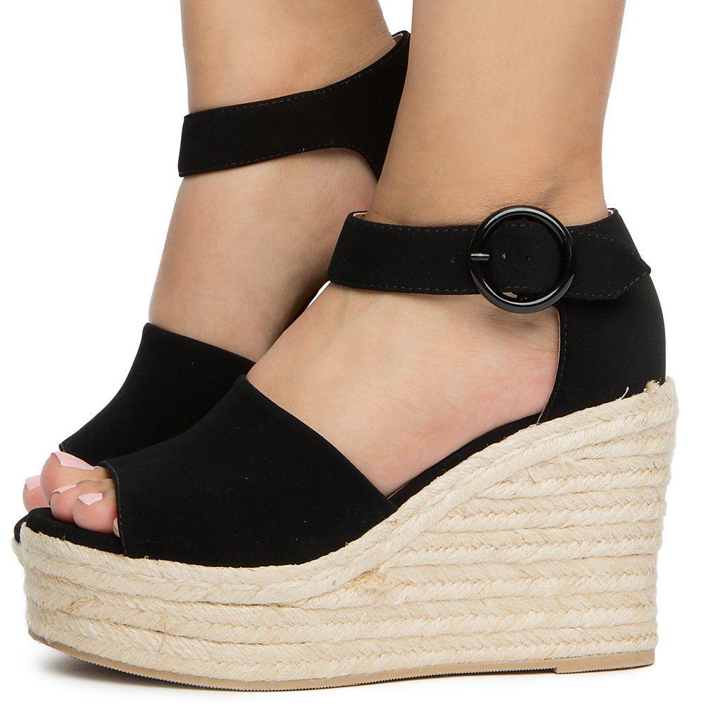 Women's Closed Heel Sandal BLACK