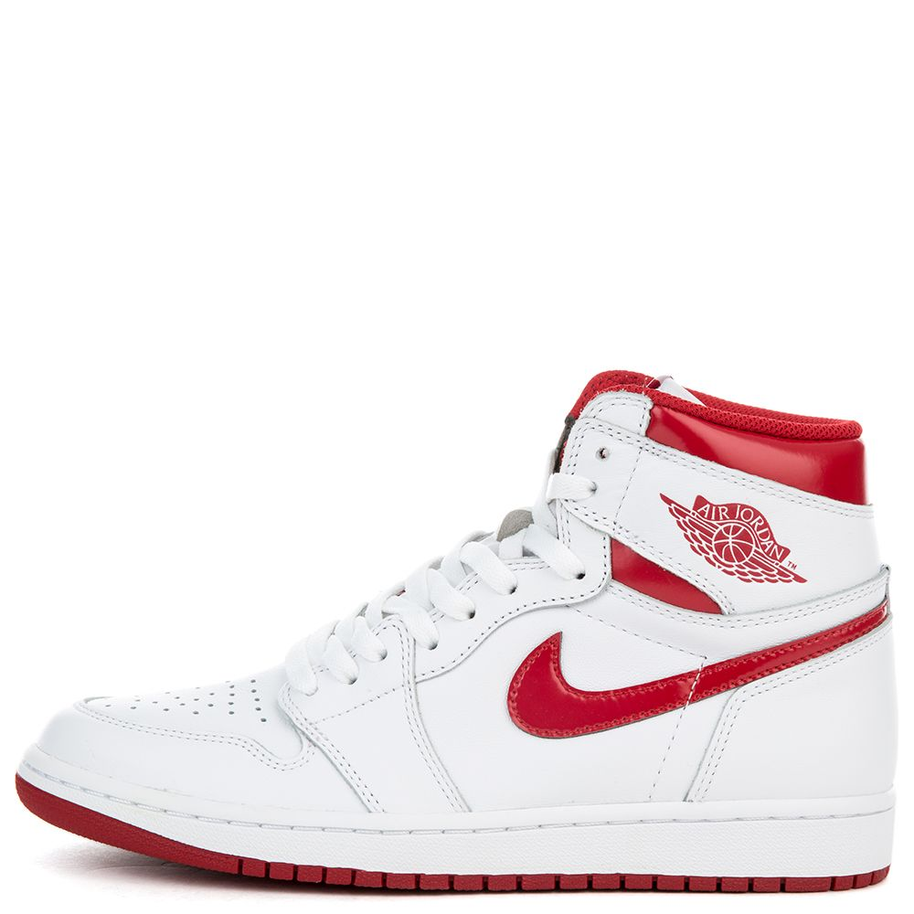 AIR JORDAN 1 RETRO HIGH OG WHITE/VARSITY RED
