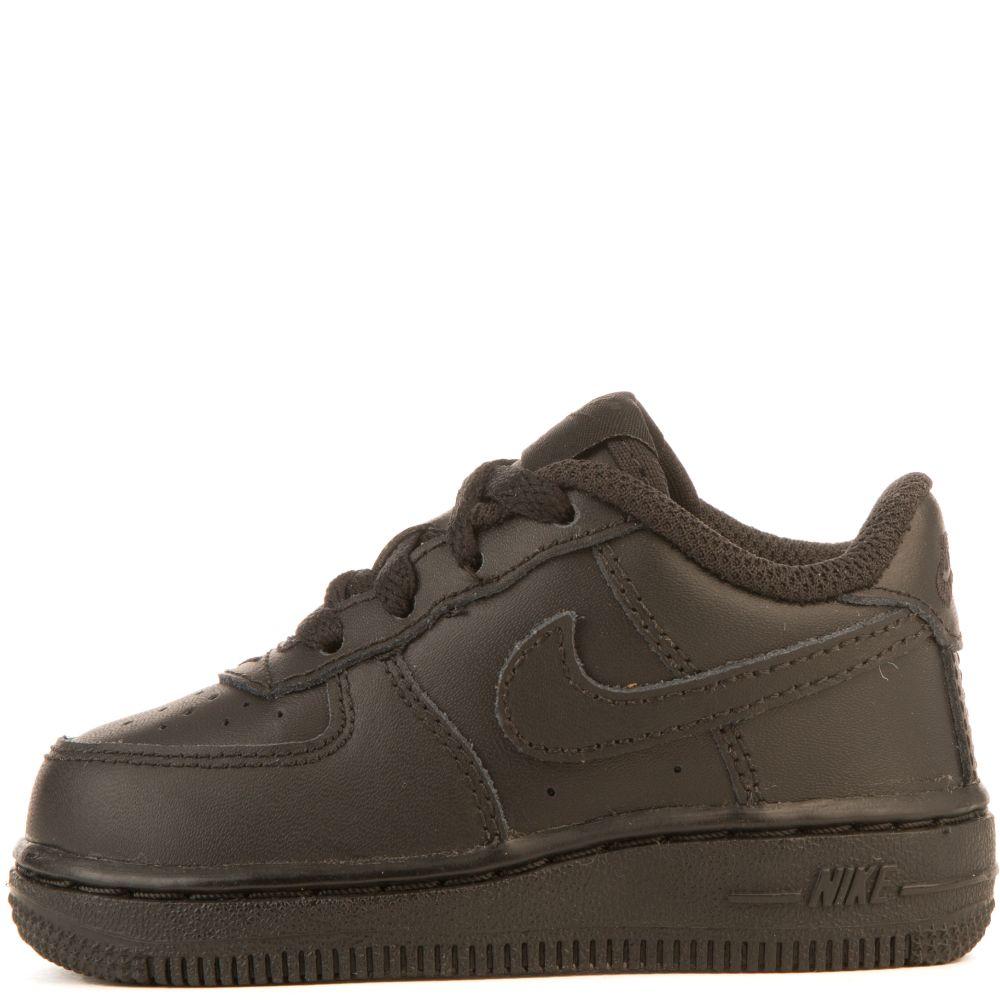 314194-009 NIKE AIR FORCE 1 TD INFANTS SHOES BLACK//BLACK 314194 NIKE