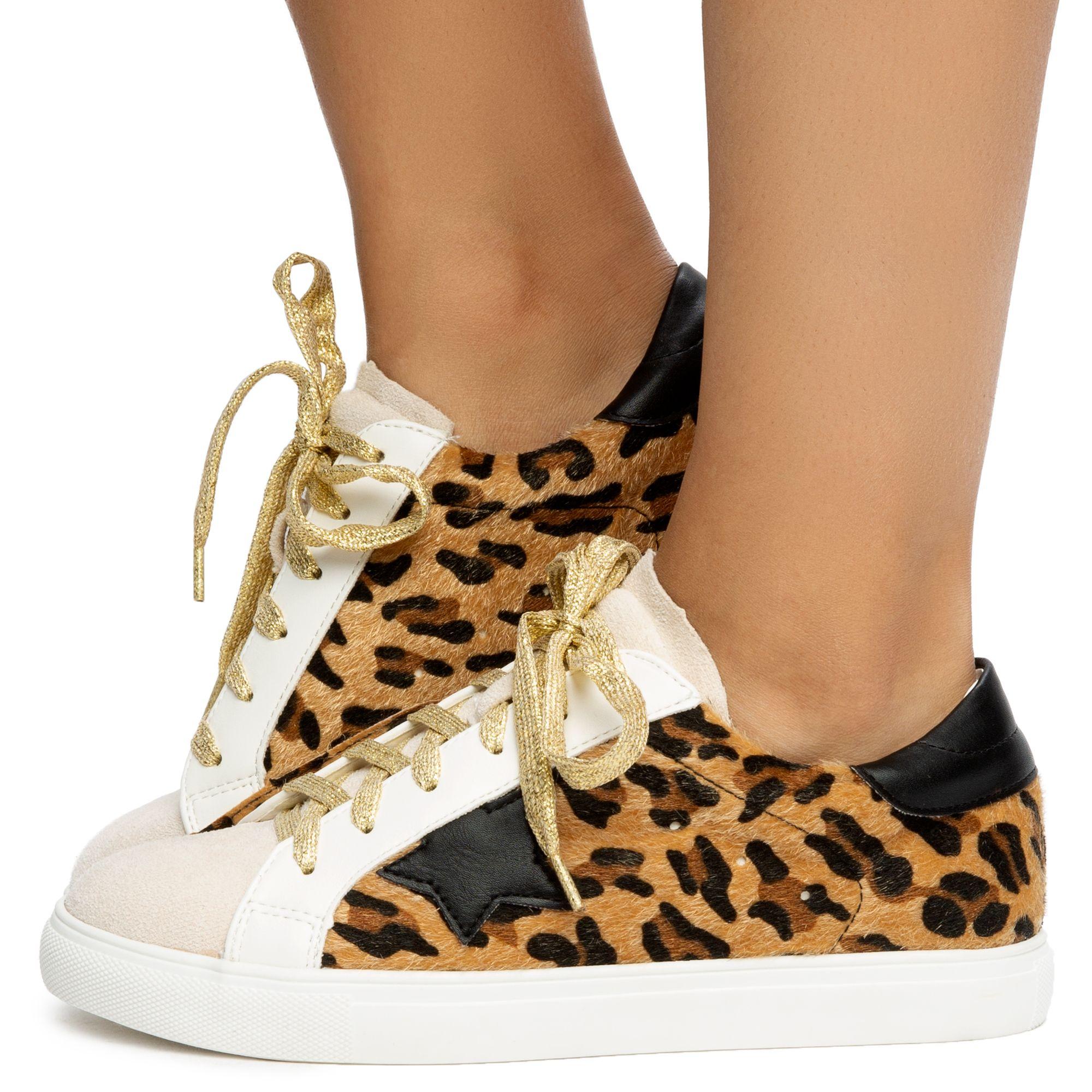 Dale Animal Print Sneakers