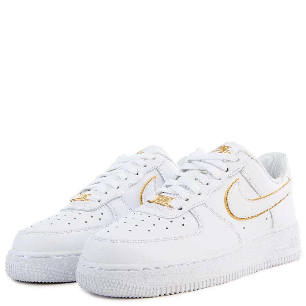 nike air force 1 metallic gold