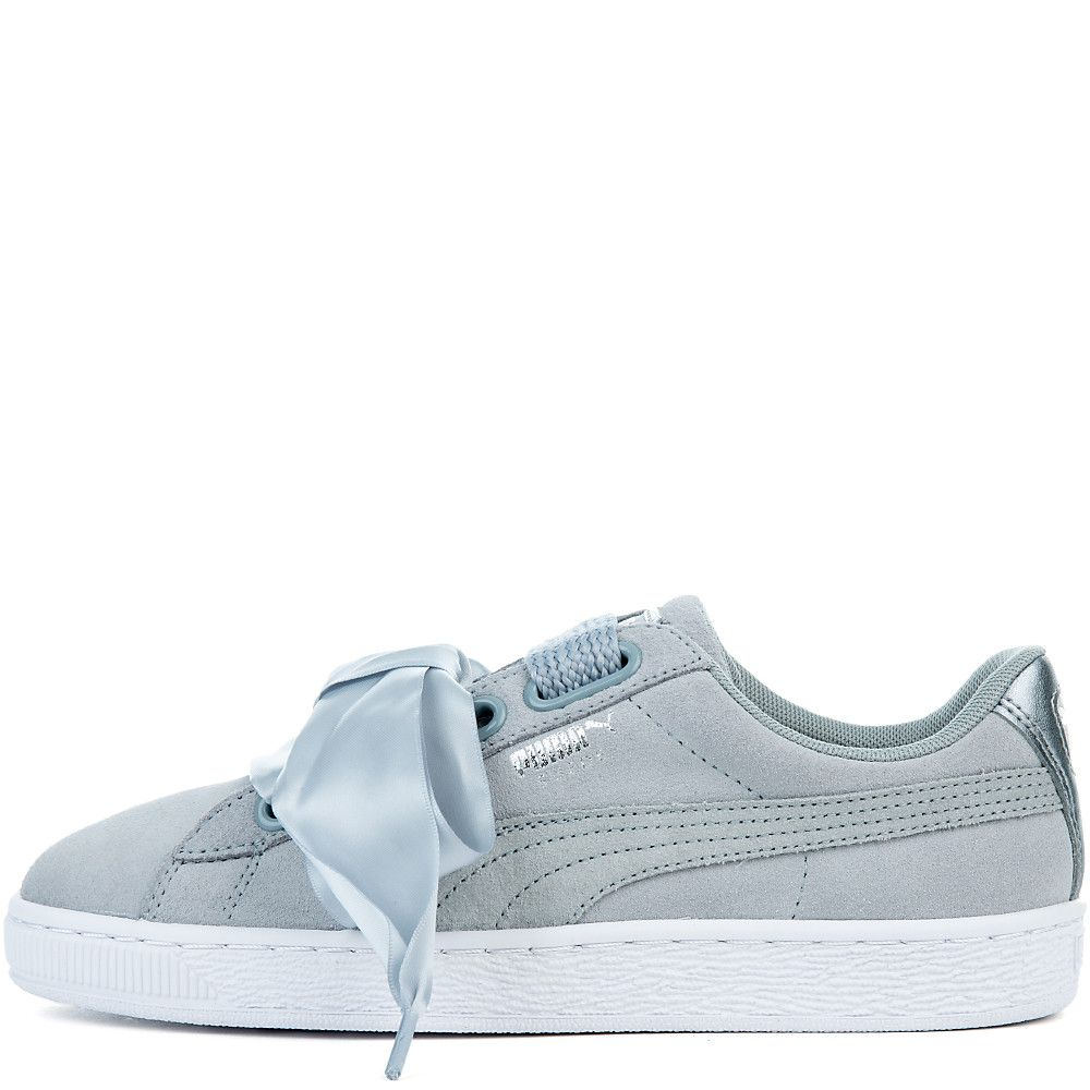 outlet store 86873 1e822 Women's Suede Heart Safari Sneaker QUARRY-QUARRY