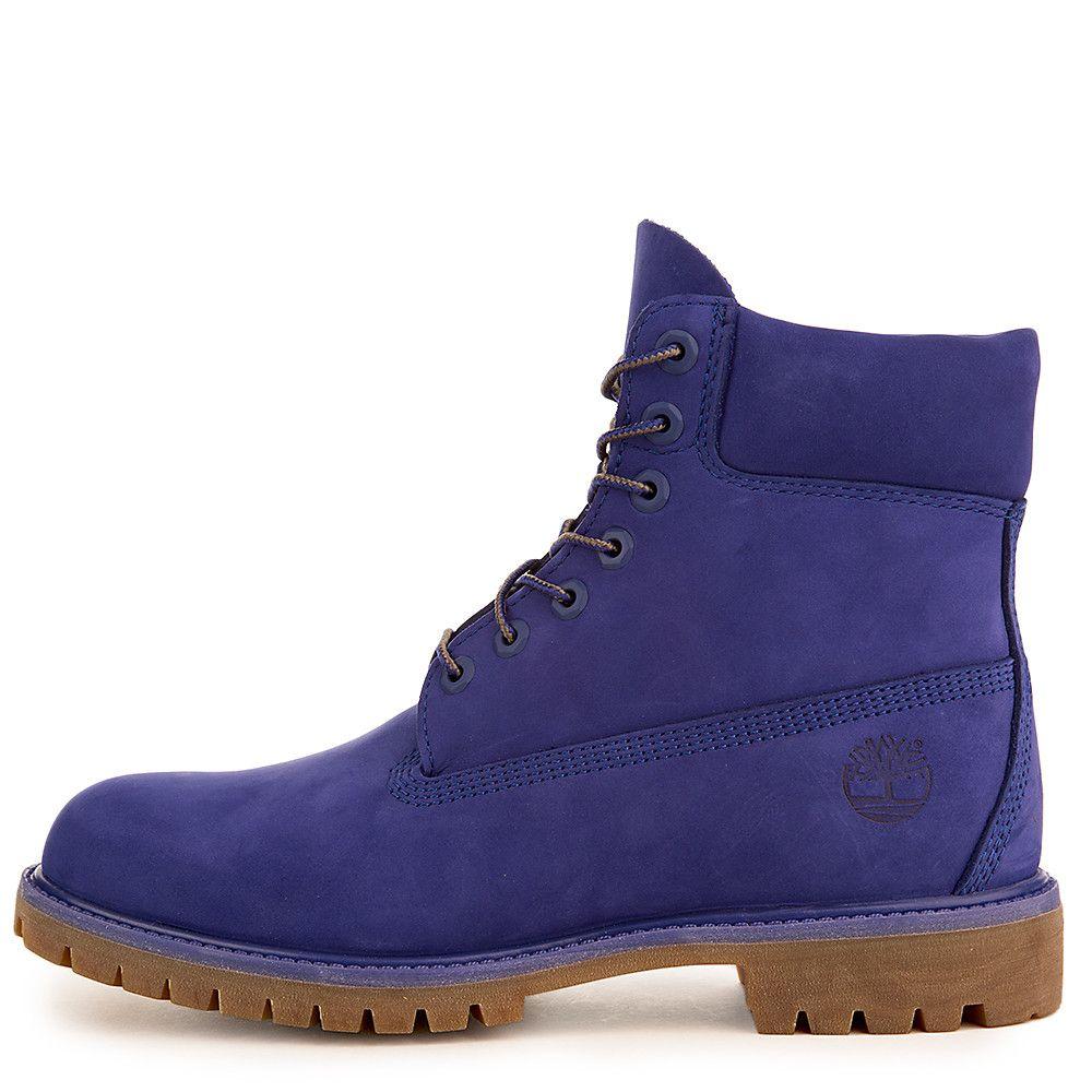 Men's 6 Inch Premium Waterproof Boot ROYAL BLUE WATERBUCK