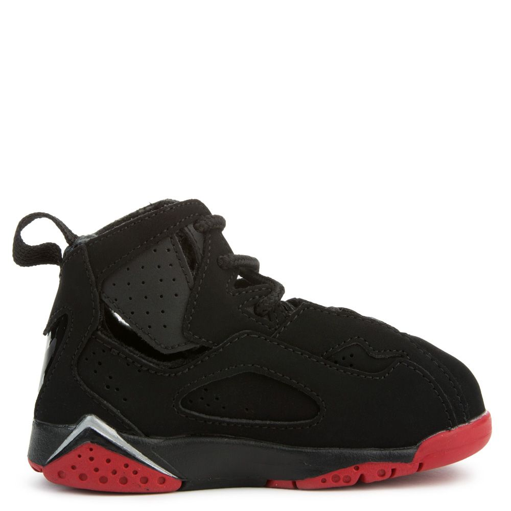 Jordan True Flight BLACK/GYM RED-METALLIC SILVERJordan 9 Black And Red And Silver