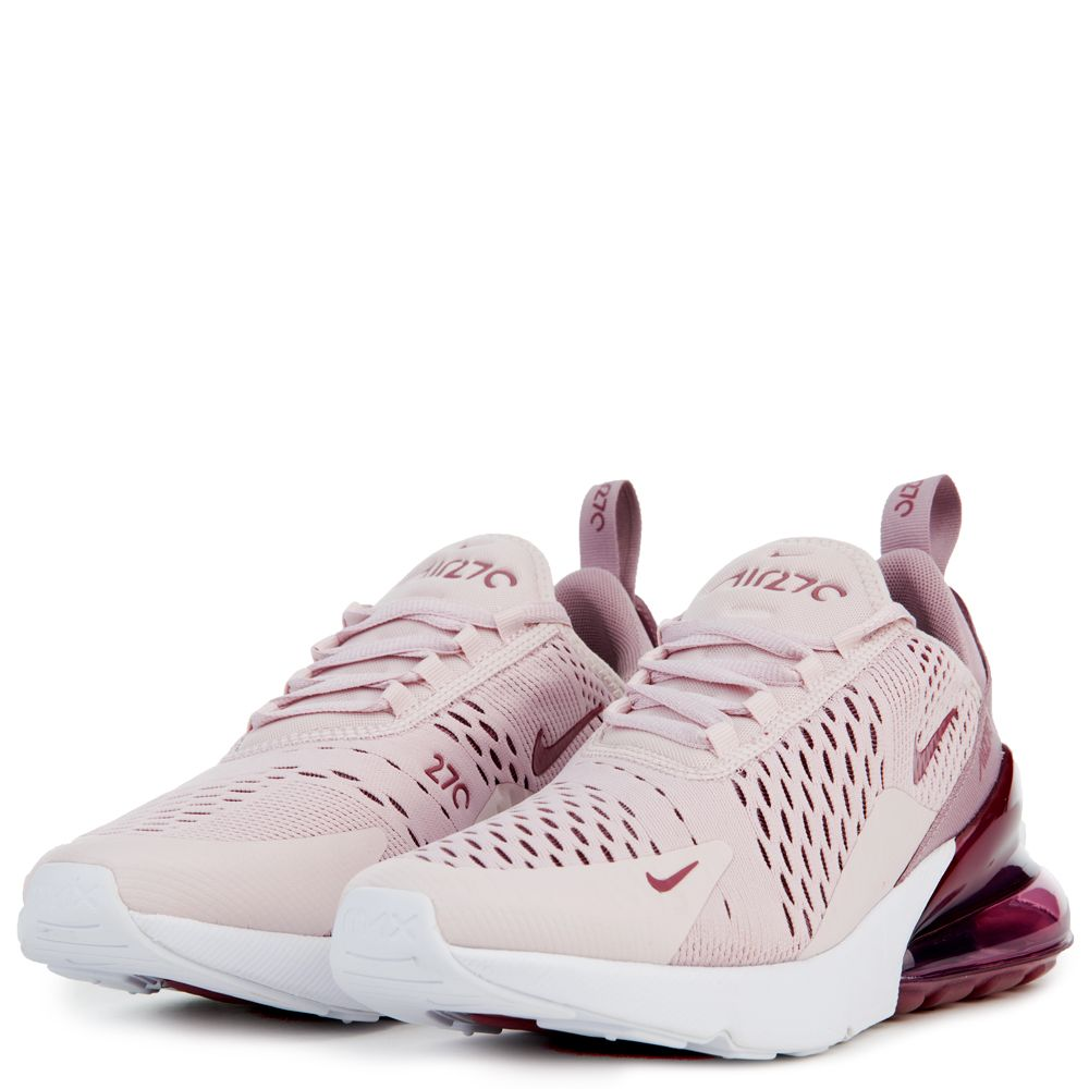 timeless design 614ef 829cf WOMEN'S NIKE AIR MAX 270 BARELY ROSE/VINTAGE WINE/ELEMENTAL ROSE