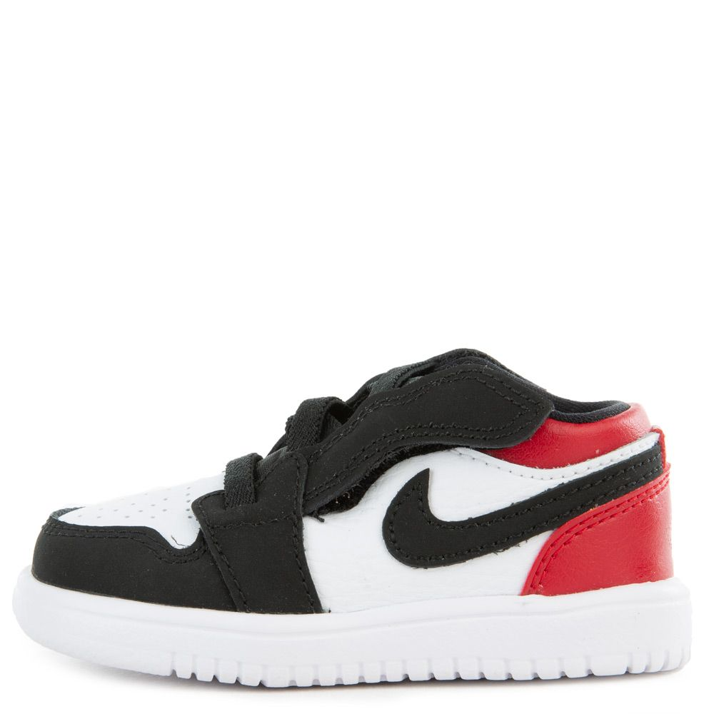 wholesale dealer 0c6f0 e664d (TD) JORDAN 1 LOW ALT WHITE/BLACK-GYM RED