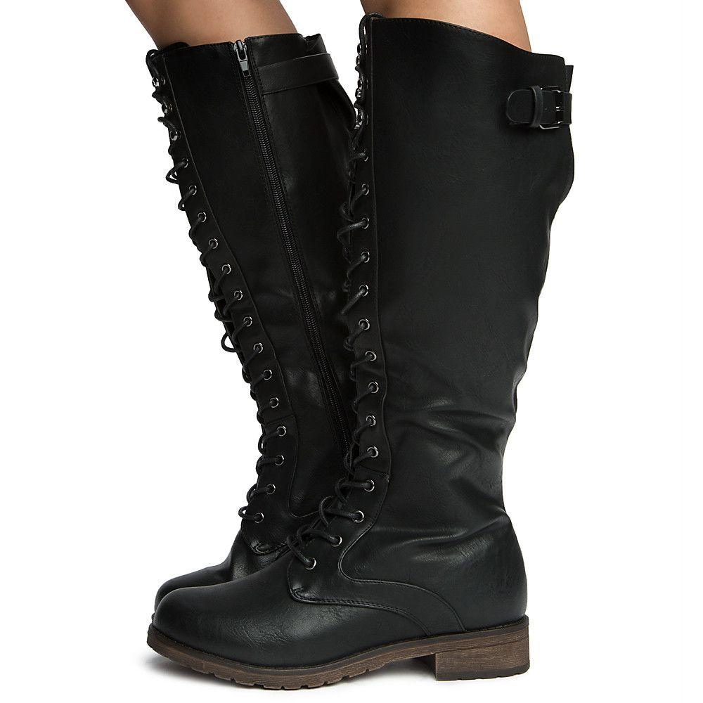 Women's Ride-3 Mid-calf Boots BLACK